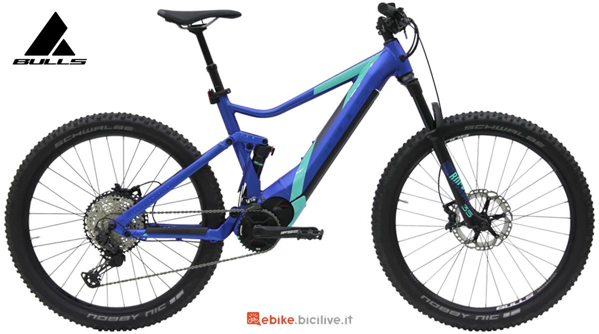 La nuova mtb elettrica full-suspended Bulls bike E-stream Eva TR 3 2021