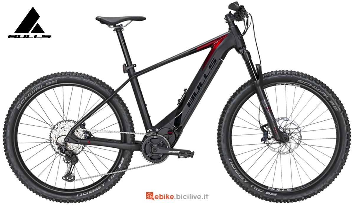 """La nuova mtb elettrica front-suspended Bulls bike E-stream Evo 3 27,5"""" 2021"""