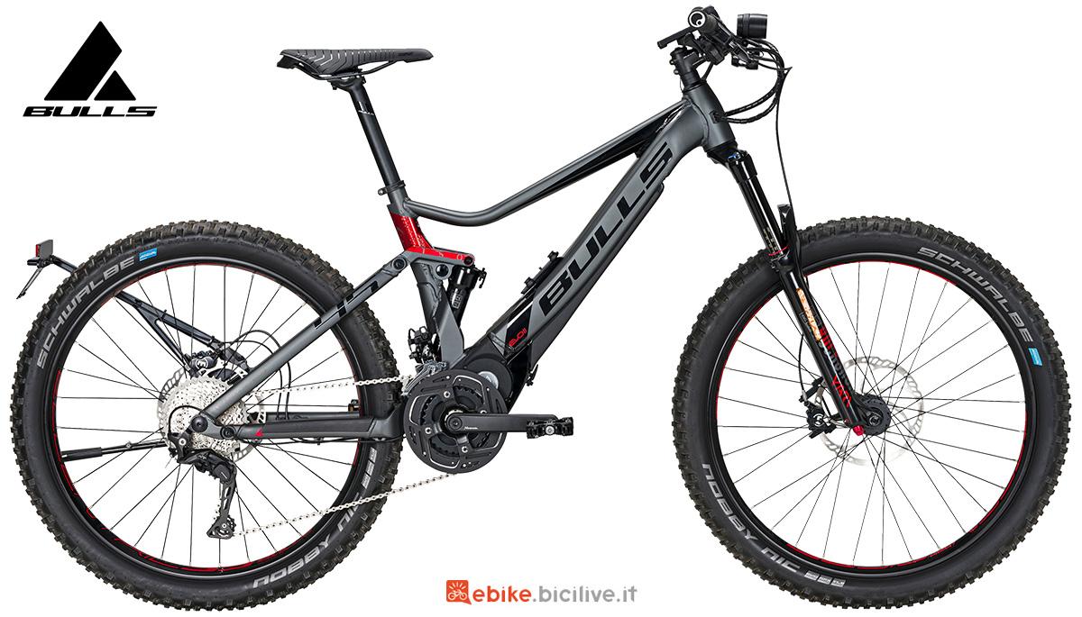 La nuova mtb elettrica full-suspended Bulls bike E-stream Evo 45 AM 2021