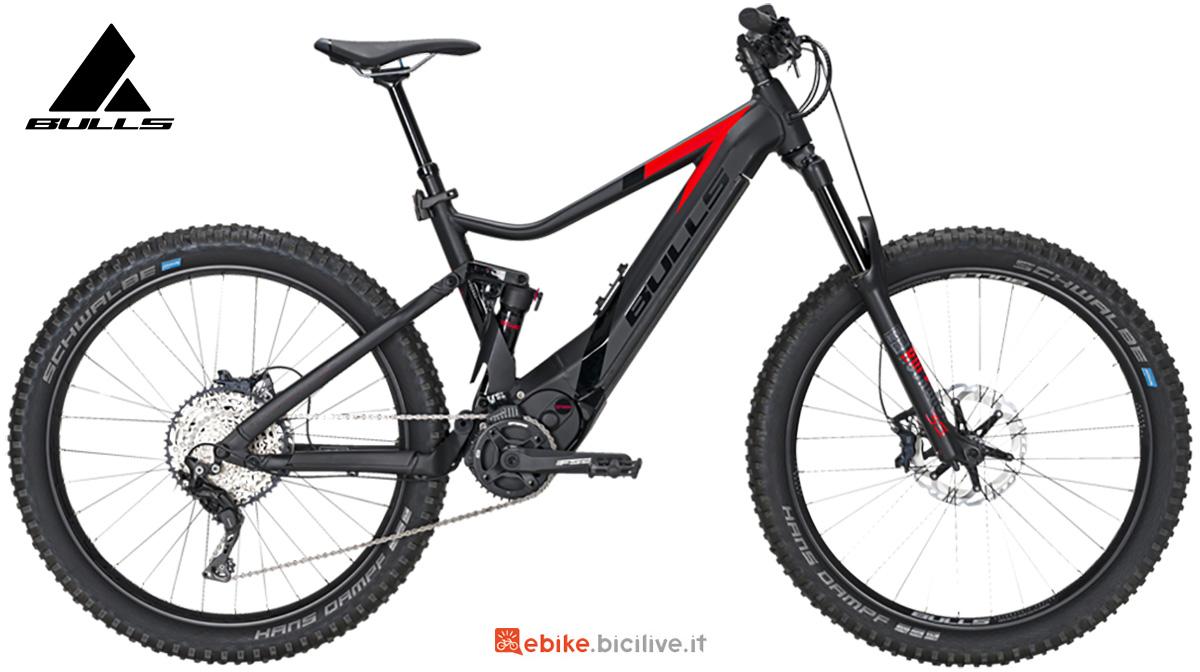 La nuova mtb elettrica full-suspended Bulls bike E-stream Evo AM 3 2021