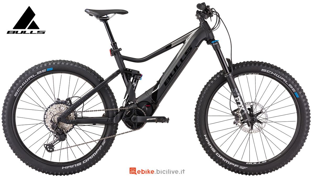 La nuova mtb elettrica full-suspended Bulls bike E-stream Evo AM 4 2021