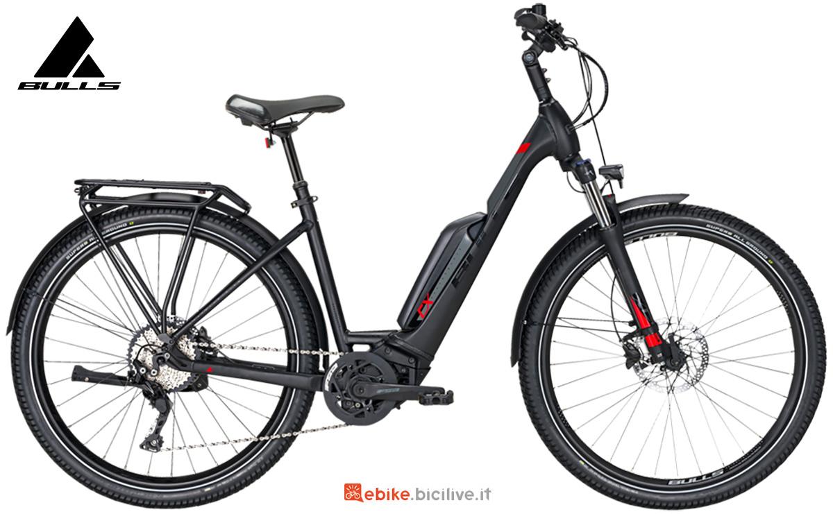 La nuova ebike da trekking Bulls bikes Icon E1 Easy Entry 2021