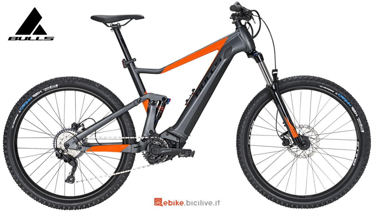 La nuova mtb elettrica full-suspended Bulls bike LT CX Evo TR 2021