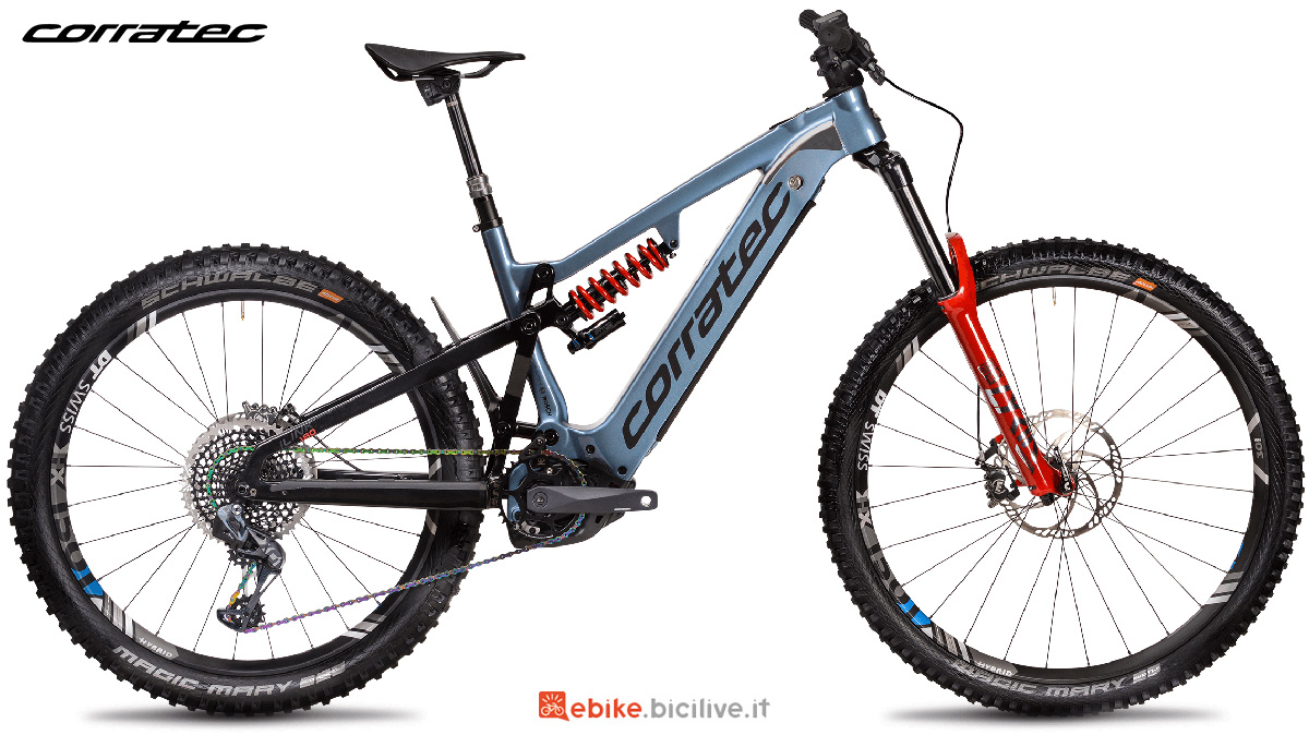 La nuova emtb Corratec E-power Ilink 180 Factory 2021