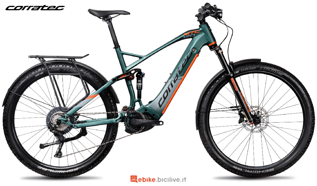 La nuova mountain bike elettrica Corratec E-Power MTC 120 Elite 45 2021