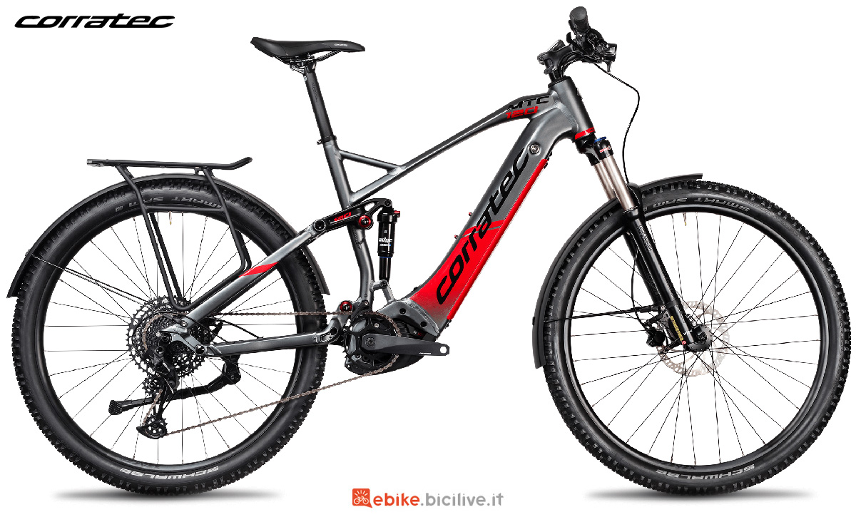 La nuova mountain bike elettrica Corratec E-Power MTC 120 Expert 2021