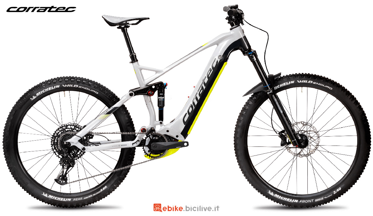 La nuova emtb Corratec E-Power RS 160 Elite 2021