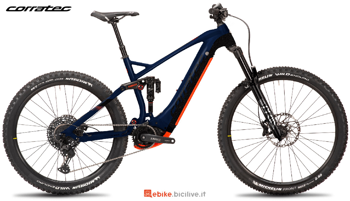 La nuova emtb Corratec E-Power RS 160 Factory 2021