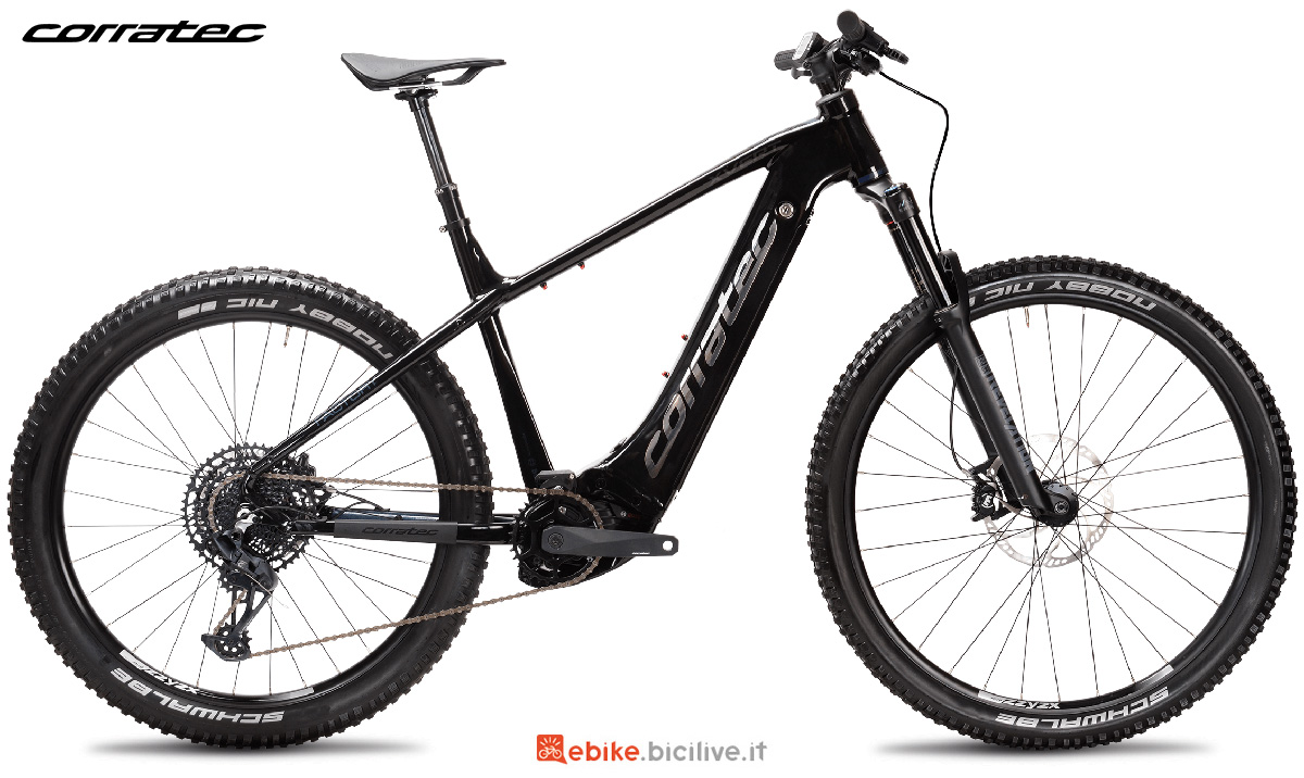La nuova emtb Corratec E-Power X Vert Factory 2021