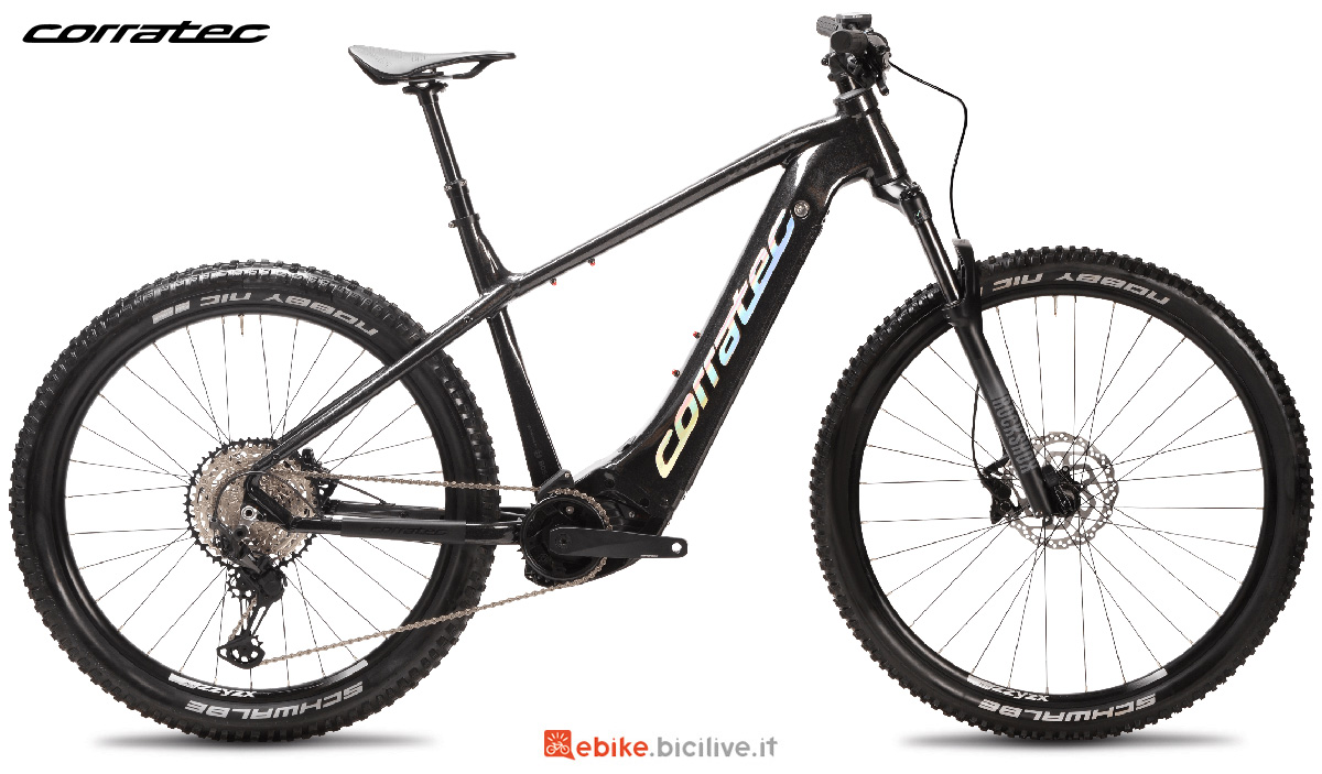 La nuova mountain bike elettrica Corratec E-Power X Vert Pro Team 2021