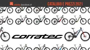 Il catalogo e listino prezzi delle nuove emtb Corratec 2021