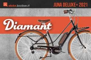 La nuova ebike urban Diamant Jena Deluxe+ 2021