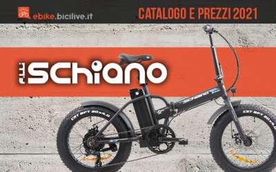 Il catalogo e i prezzi delle nuove ebike Fratelli Schiano 2021