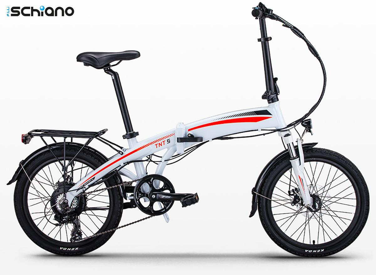 La nuova ebike pieghevole Fratelli Schiano TNT5 2021
