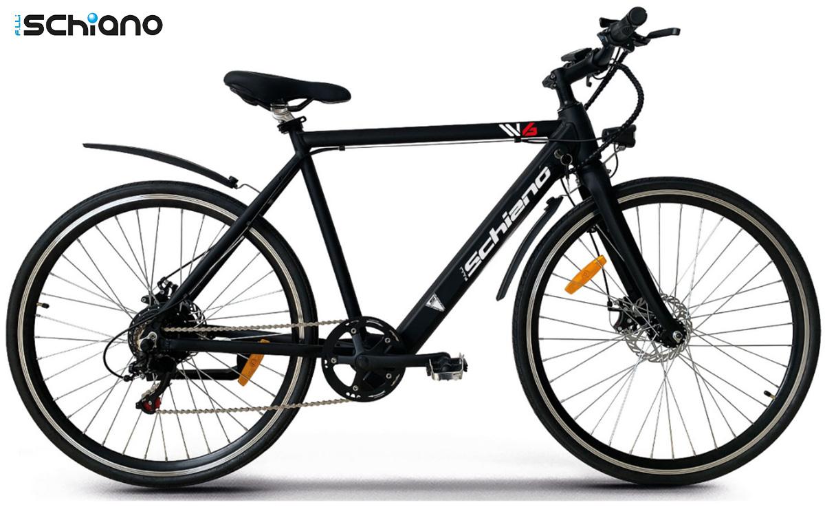 La nuova city bike elettrica Fratelli Schiano W6 2021