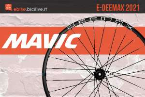 Mavic E-Deemax 2021: ruote per mountain bike elettriche