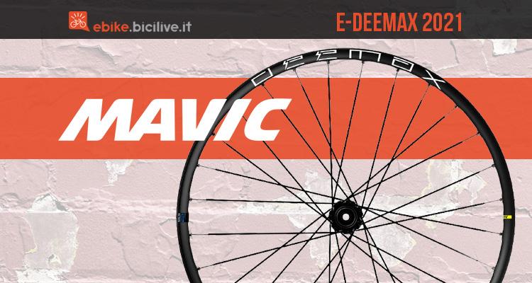 Mavic E-Deemax 2021: ruote per mountain bike elettriche