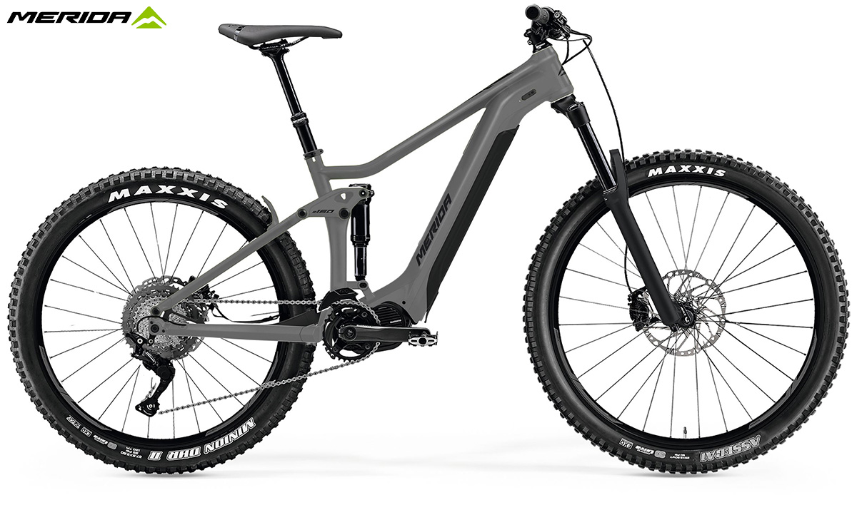 La nuova mountainbike elettrica biammortizzata Merida eOne Sixty 300S 2021