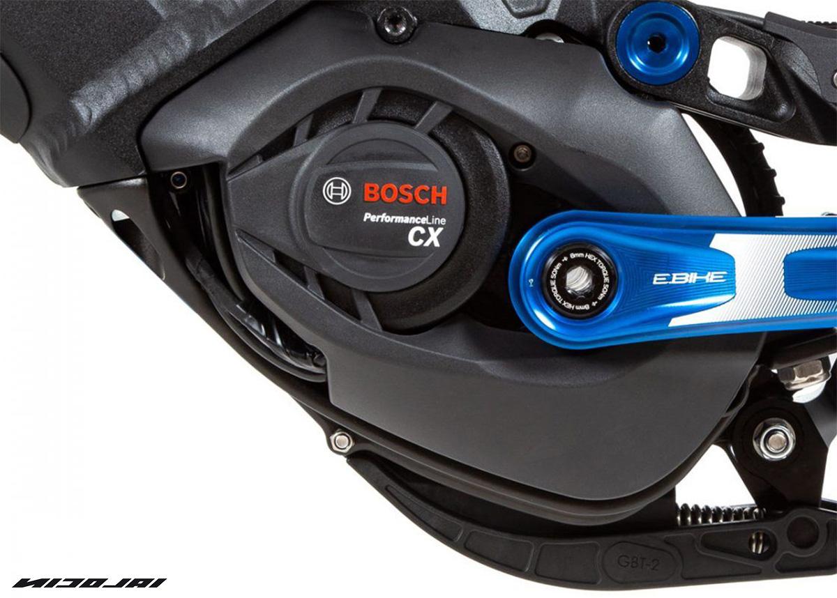 Il motore Bosch che spinge le nuove mtb elettriche Nicolai Eboxx 2021