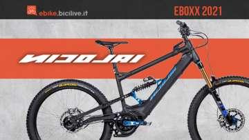 I nuovi modelli emtb Nicolai Eboxx 2021