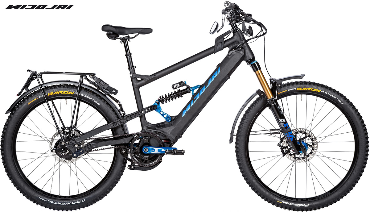La bici da etrekking Nicolai GT1 Eboxx E14 Speed 2021