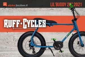 """La nuova fatbike elettrica Ruff Cycle Lil' Buddy 2021 con ruote da 20"""""""