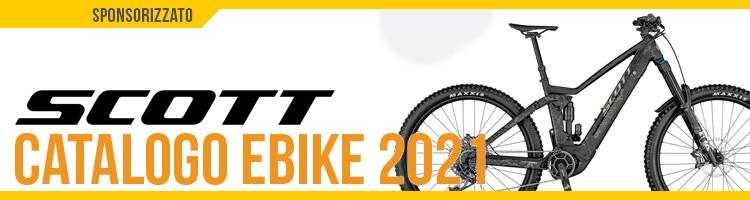 Catalogo e listino prezzi ebike 2021 Scott