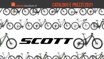 Scott ebike 2021: catalogo e listino prezzi bici elettriche