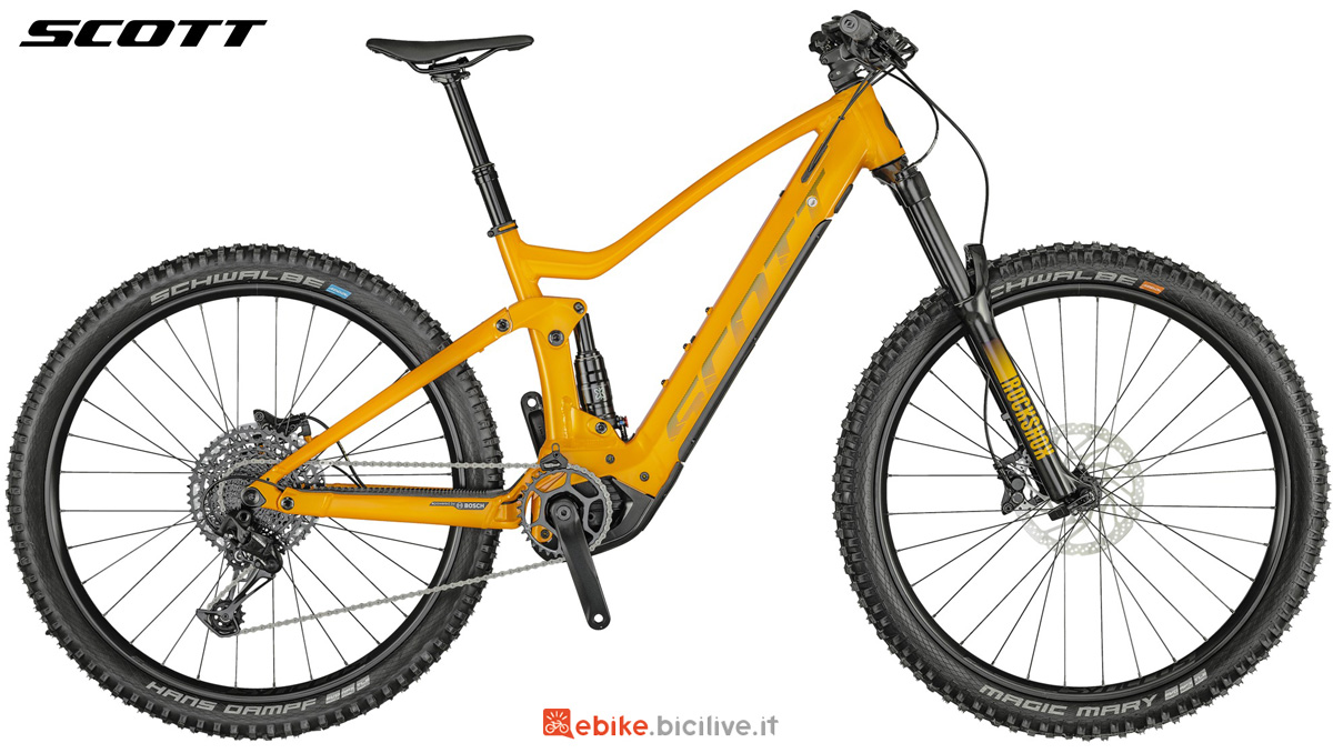 Una pedelec full suspension Scott Genius eRide 930 2021