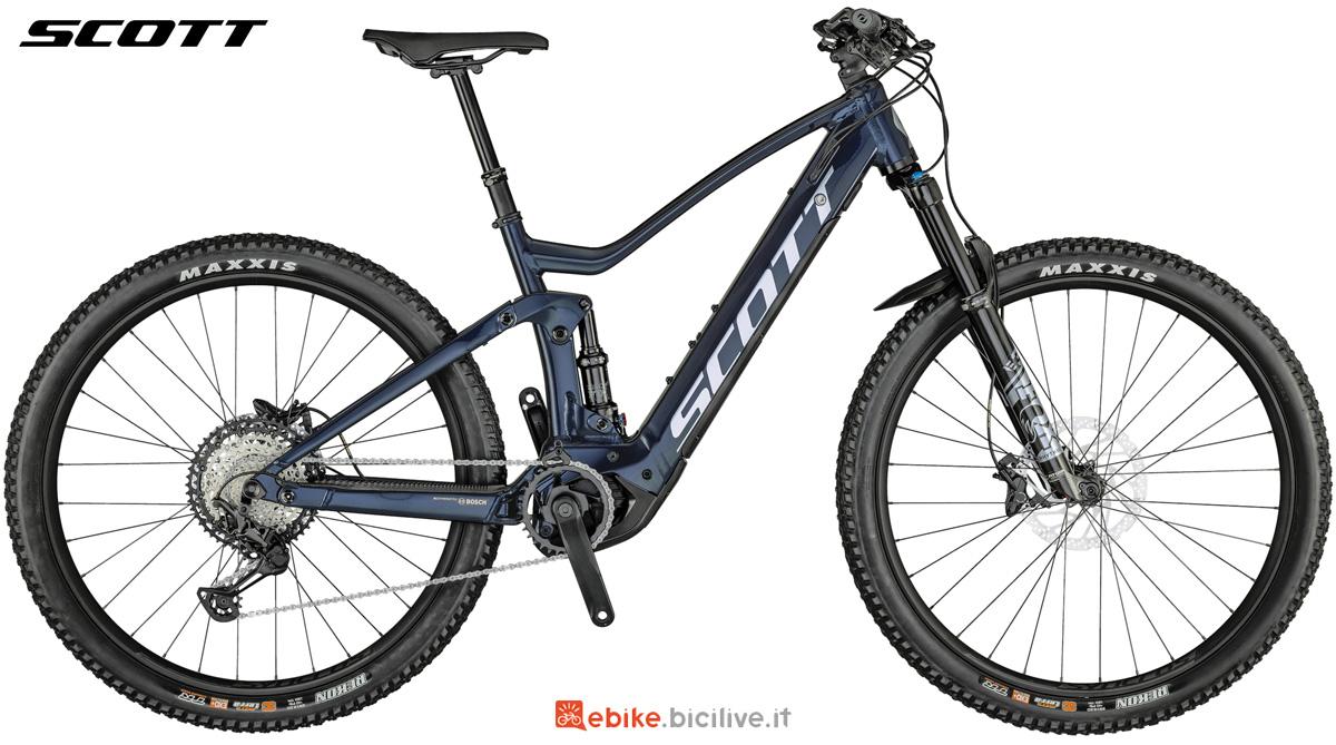 Una mountain bike full Scott Strike eRide 910 2021