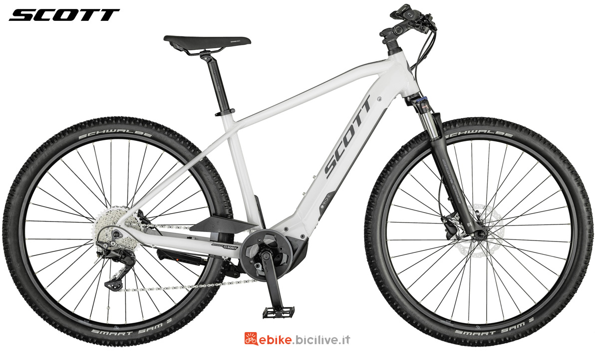 Una ebike Scott Sub Cross eRide 10 MEN gamma 2021