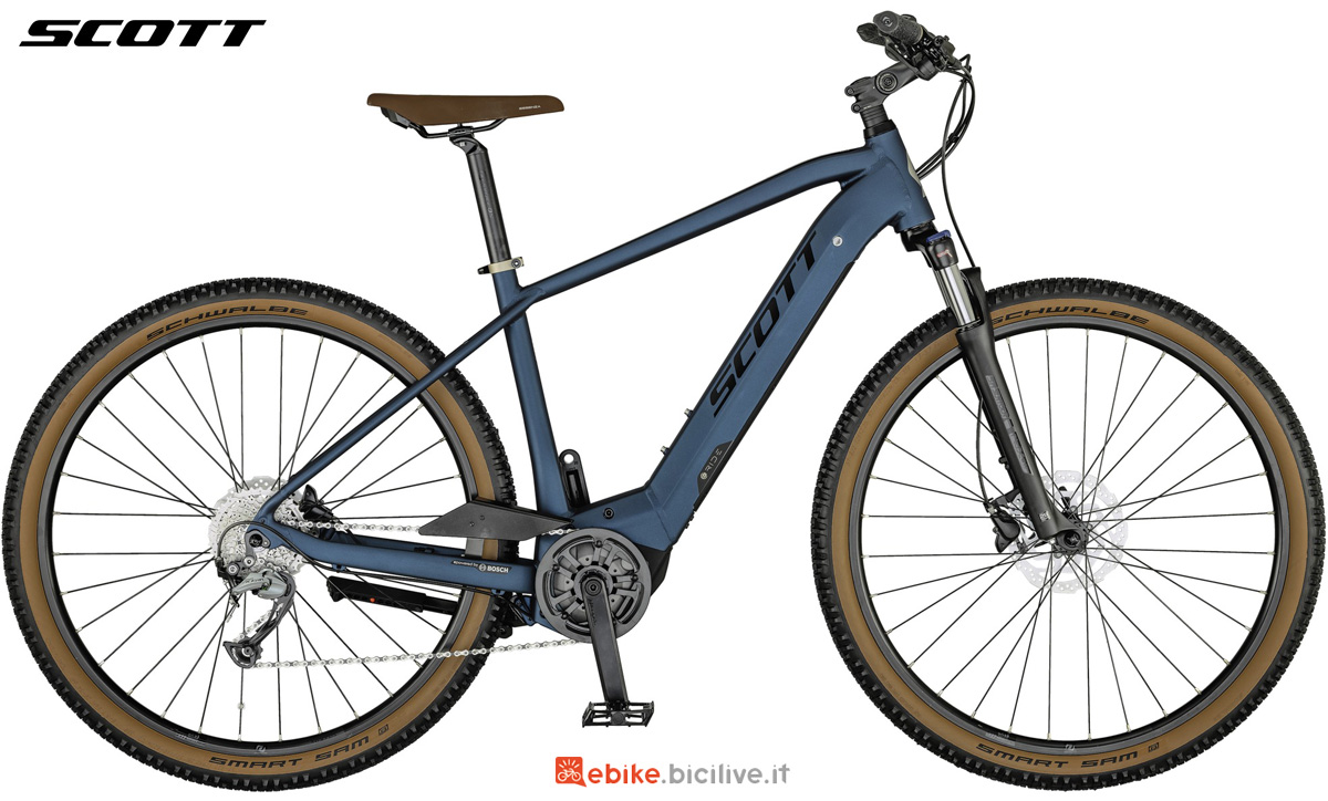 Una pedelec urban Scott Sub Cross eRide 30 MEN gamma 2021