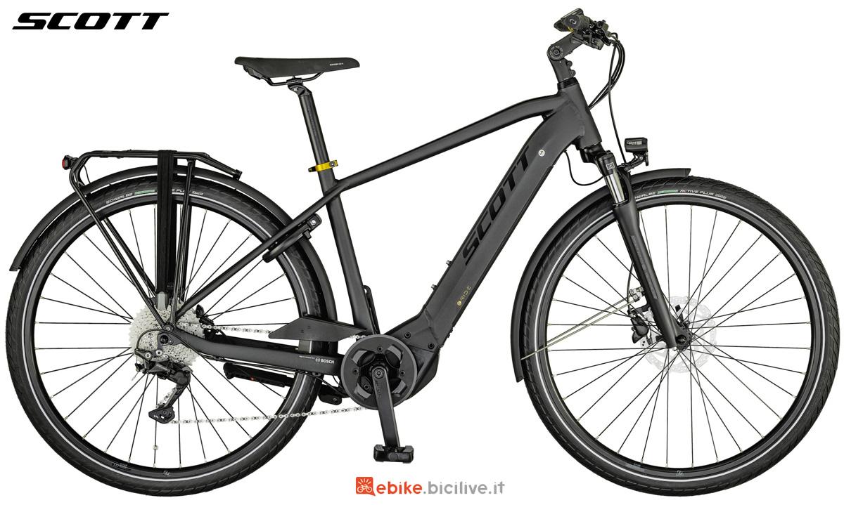 Una e-bike urban Scott Sub Sport eRide 20 MEN da uomo