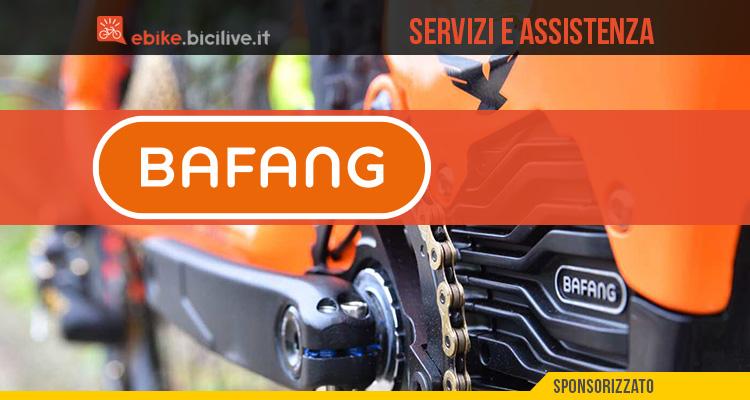 Il servizio e l'assistenza di Bafang