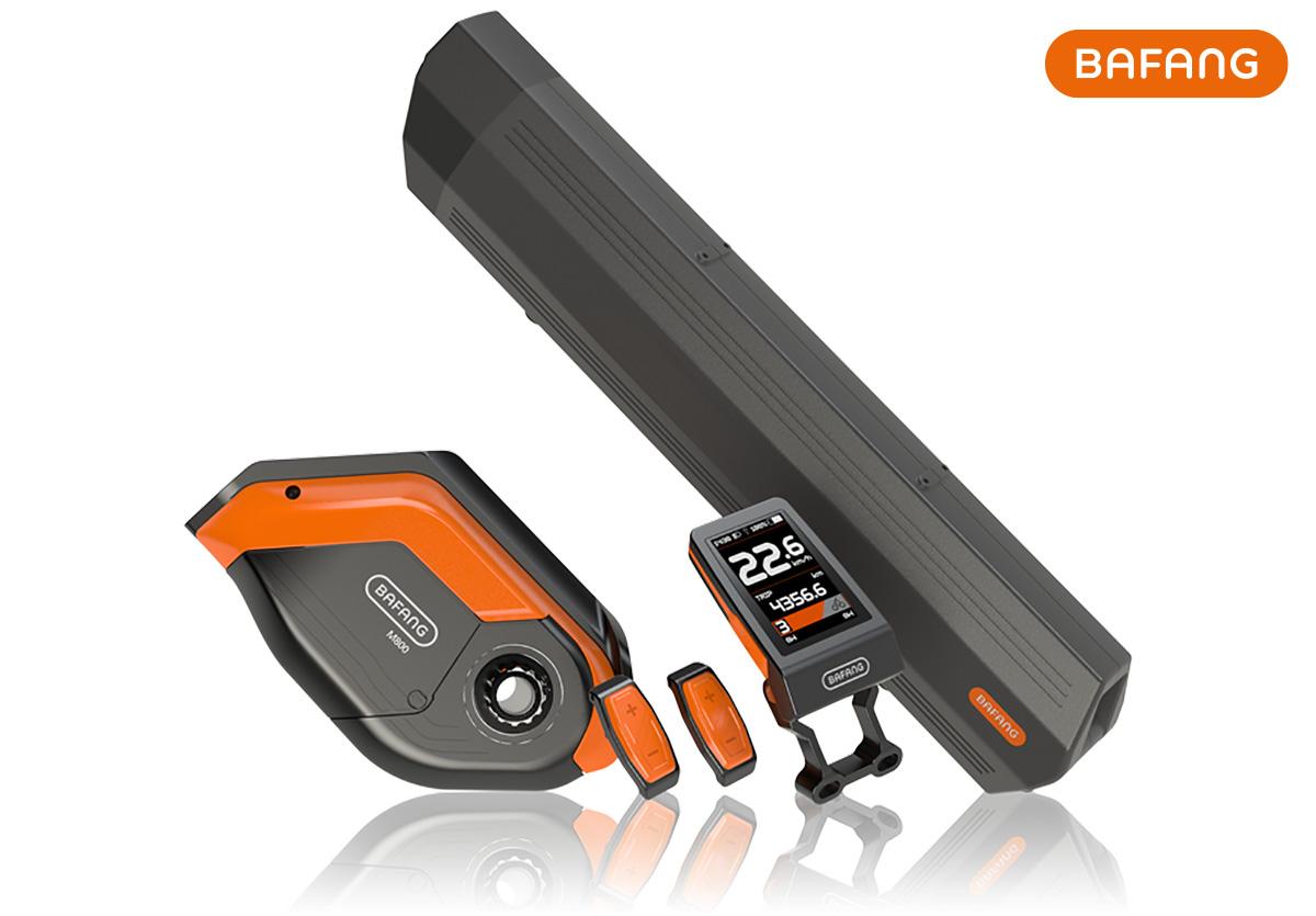 Il sistema integrato Bafang M800 per ebike