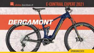 Bergamont E-Contrail Expert 2021: una e-MTB da trail riding