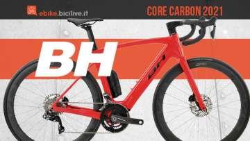 BH Core Carbon 2021: e-Road ed e-Gravel telaio carbonio