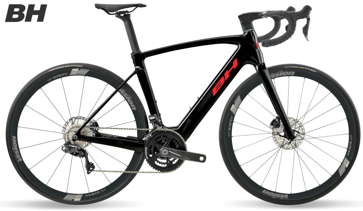 Una ebike da strada BH Core Race Carbon 1.8 2021
