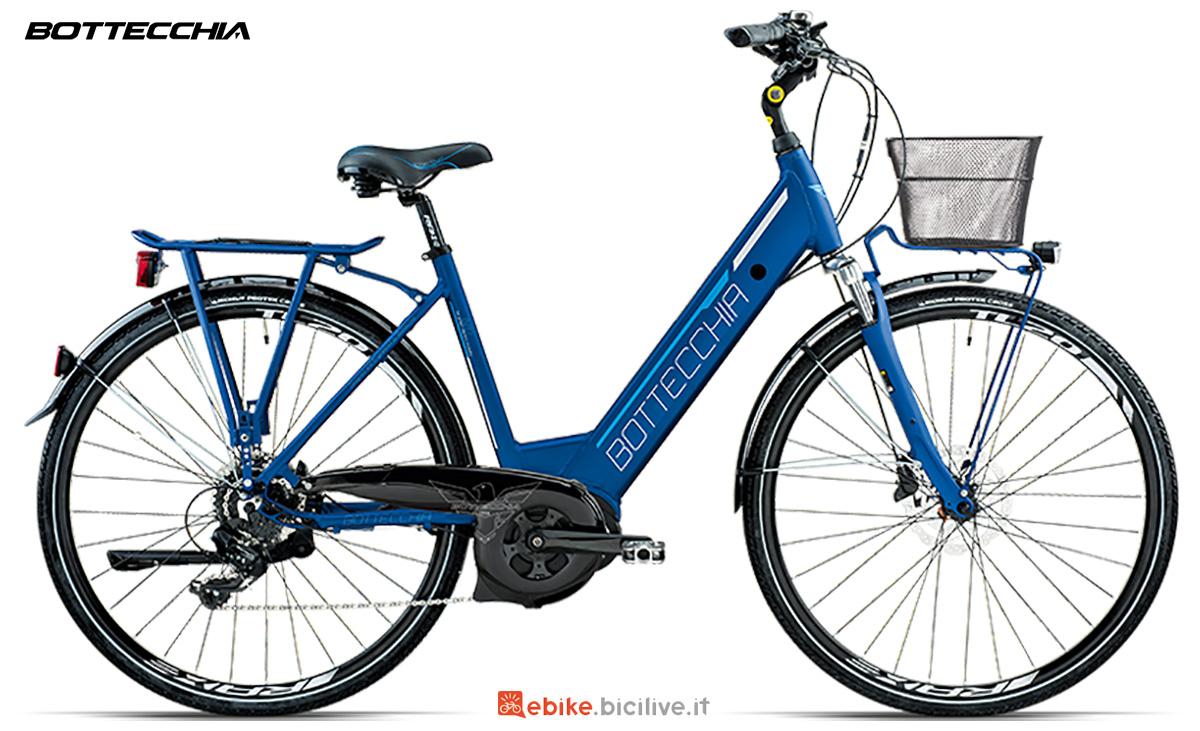 La nuova bici da trekking elettrica per donna Bottecchia BE17 Ecity Lady 2021
