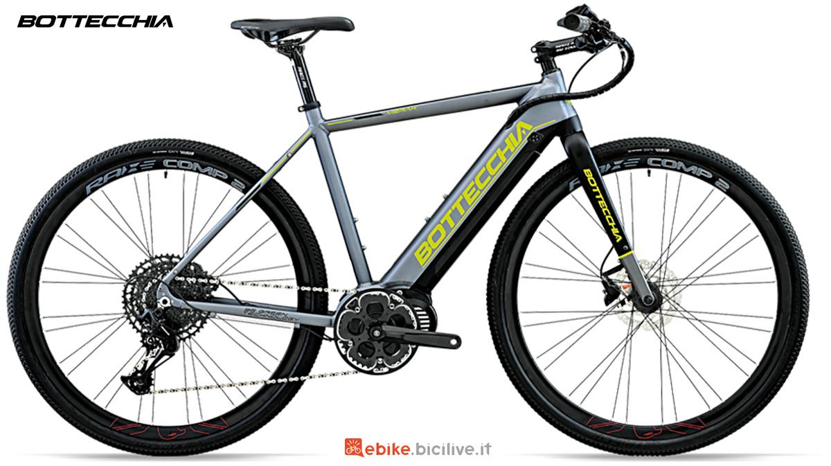 La nuova bici elettrica da strada Bottecchia BE84 Cross Merak 2021