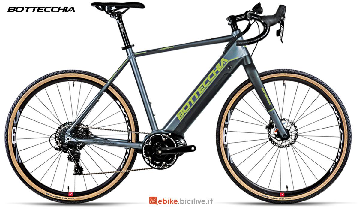 La nuova bici elettrica da strada Bottecchia BE85 Egravel Merak 2021