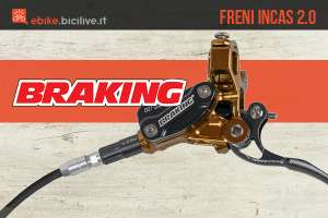 I nuovi freni a disco idraulici per ebike Braking Incas 2.0