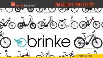 Il catalogo e i prezzi dei nuovi modelli ebike Brinke 2021
