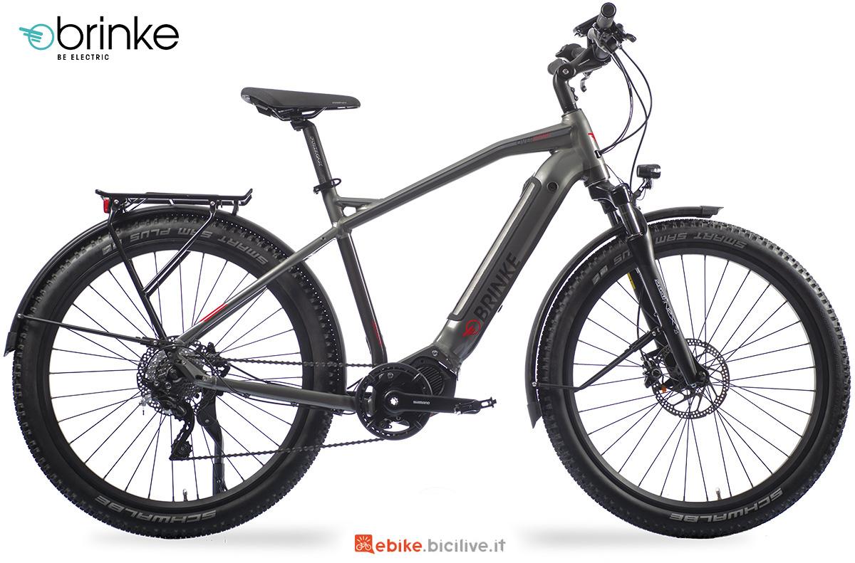 La nuova ebike da trekking Brinke Overland XT Sport 2021