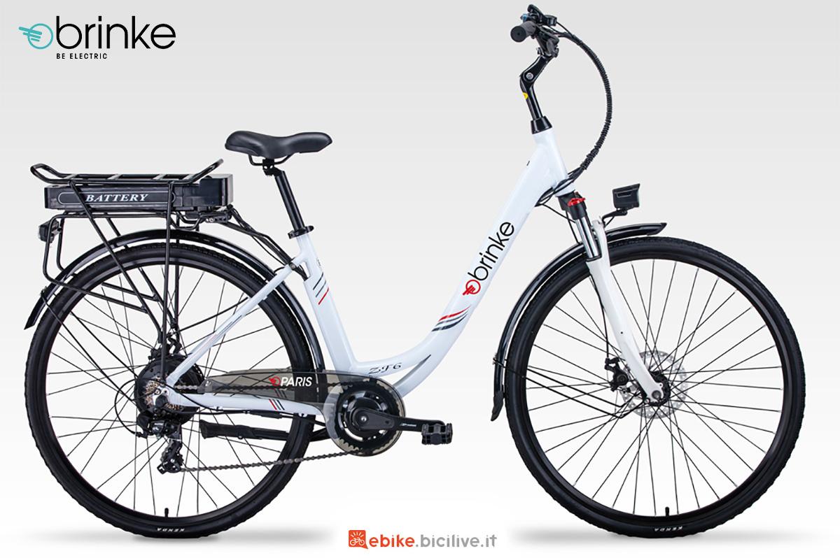 La nuova ebike da città Brinke Paris 2021