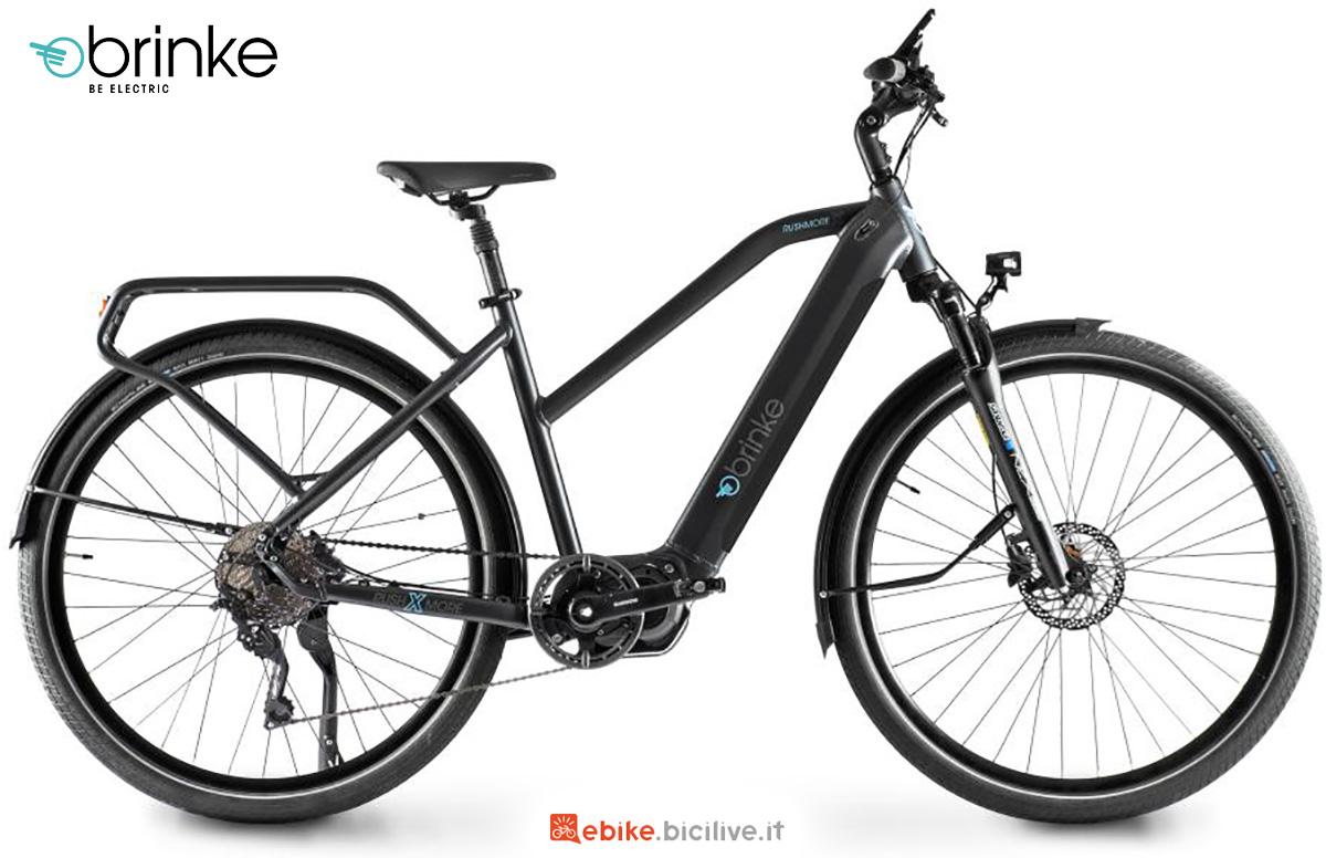 La nuova ebike da trekking Brinke Rushmore X Deore 2021