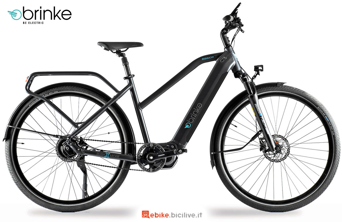 La nuova bici elettrica da trekking Brinke Rushmore X DI2 2021