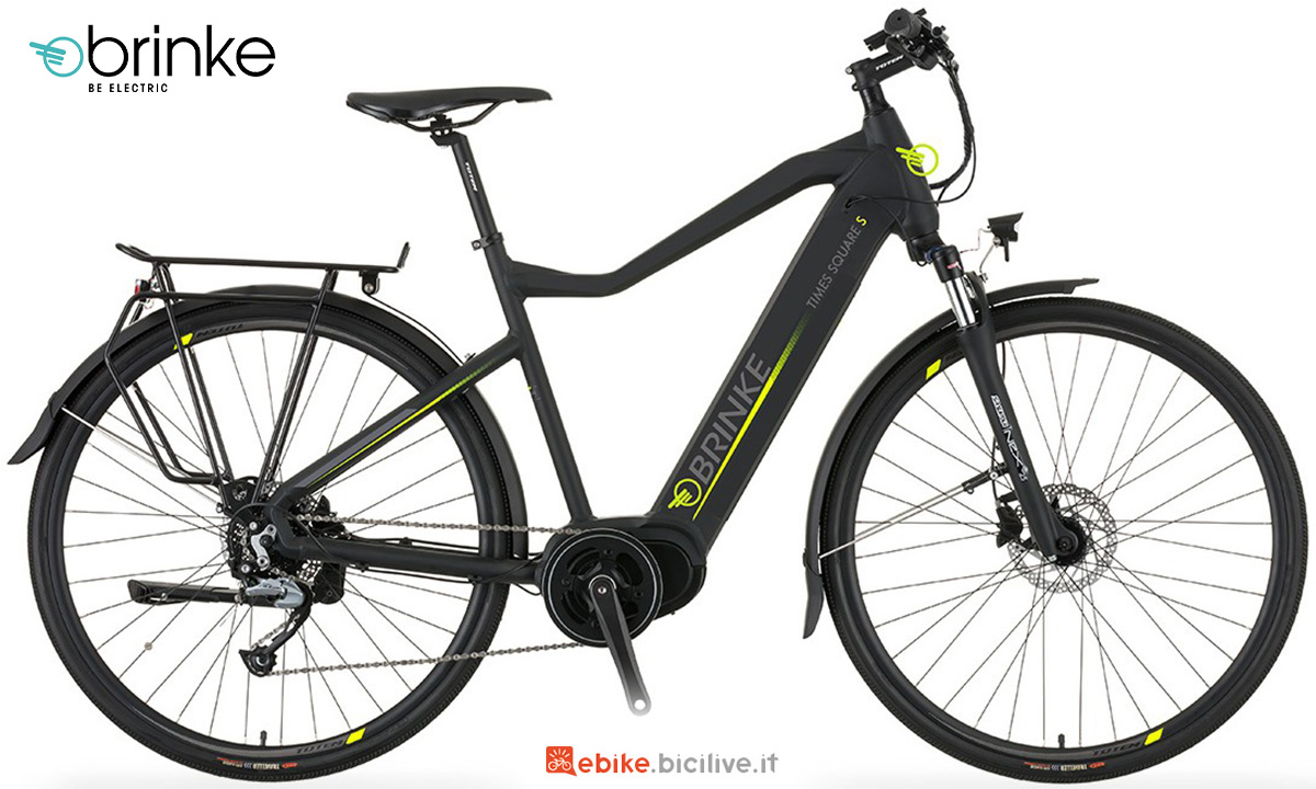 La nuova bici elettrica da trekking Brinke Time Square S 2021