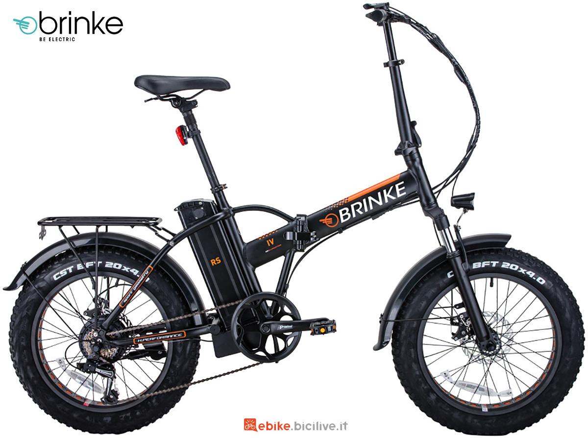 La nuova ebike pieghevole Brinke Troll 36V 2021