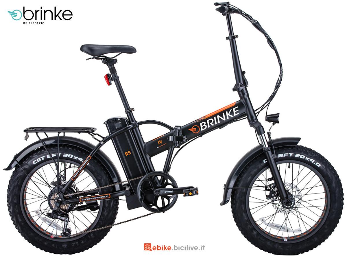 La nuova ebike pieghevole Brinke Troll 48V 2021